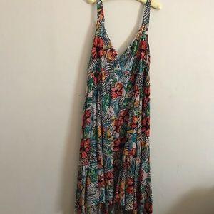 Jessica Simpson- High/Low maxi Dress size 2X